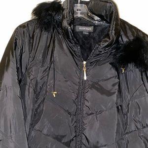 EUC ELLEN TRACY 2x low hip winter down jacket